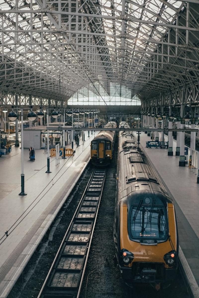 Travel to Nimes Train Station