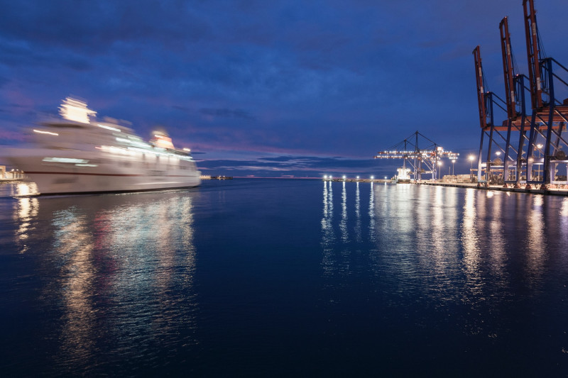 Explore Malaga port
