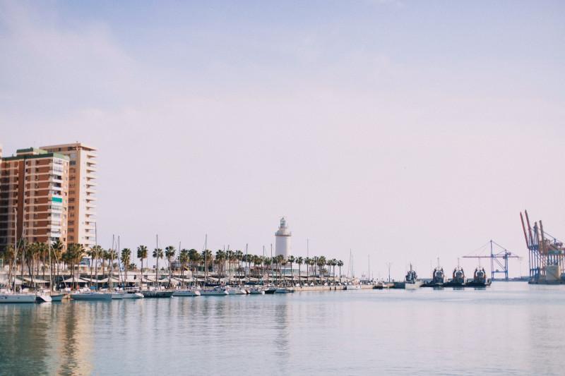 Visit Malaga port